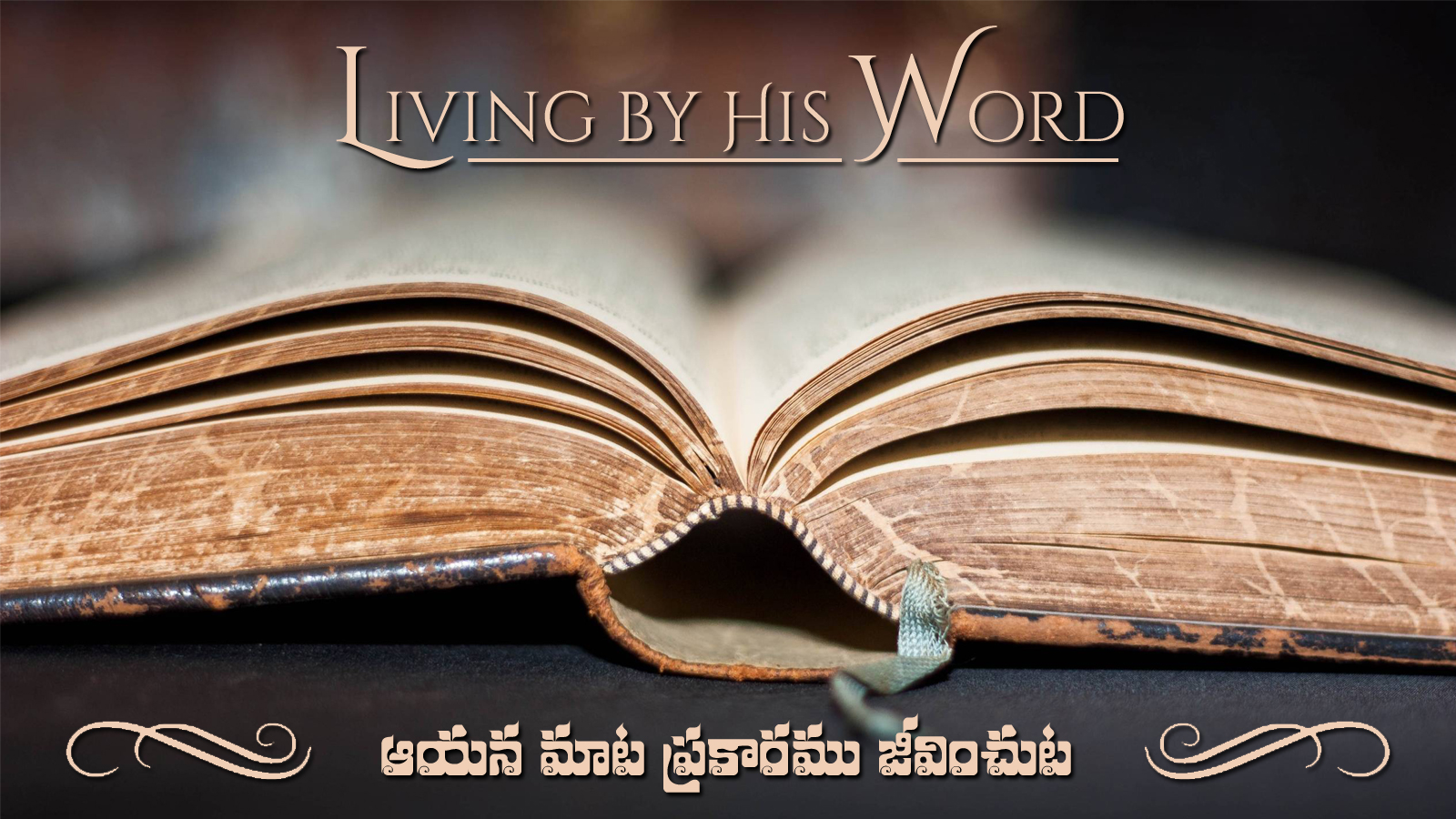 Living by His Word (A303)