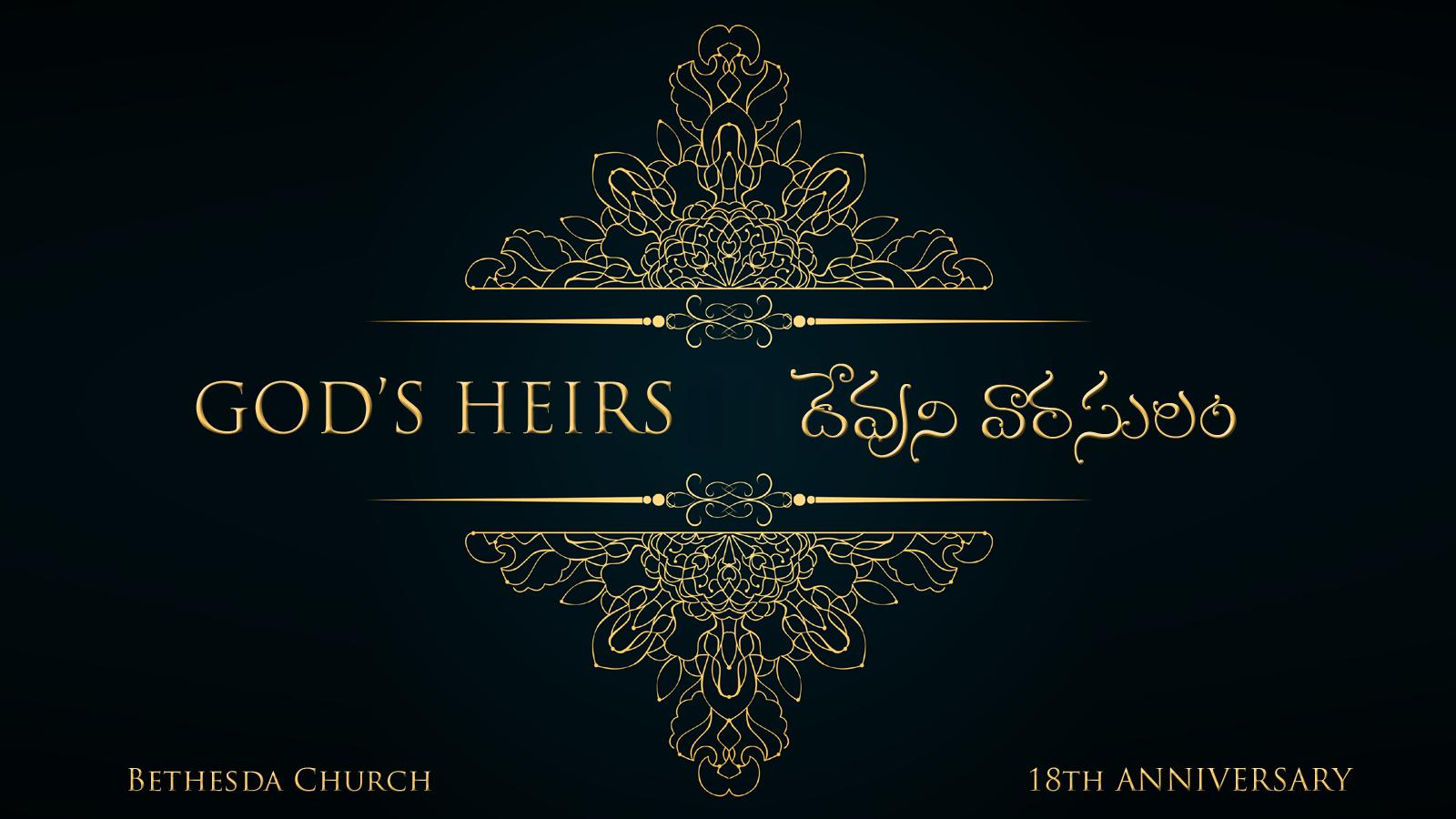 God's Heirs (A324)